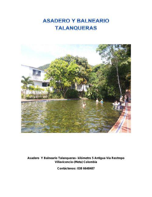 ASADERO+Y+BALNEARIO+TALANQUERAS