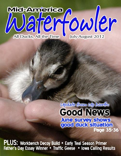 July August Mid America Waterfowler