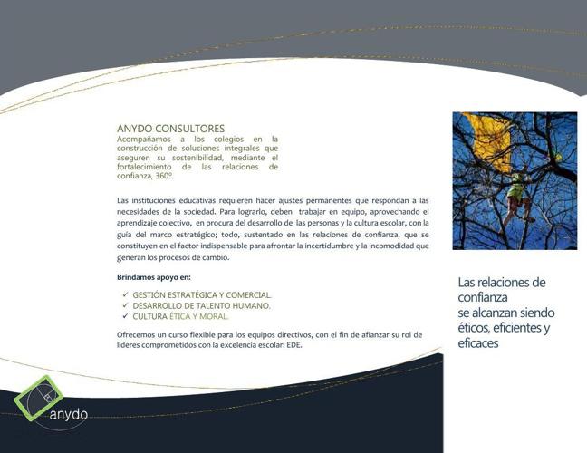 Brochure ANYDO Colegios 2014