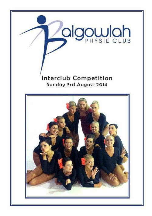 2014 Interclub Program ipadc