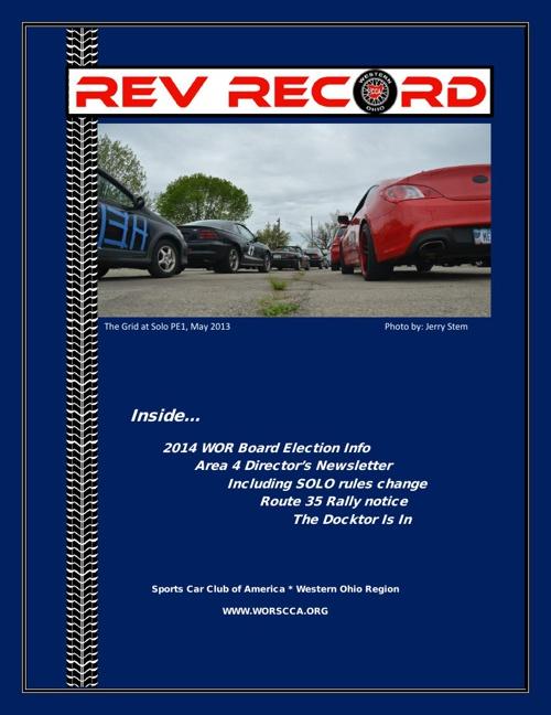 November 2013 Rev Record