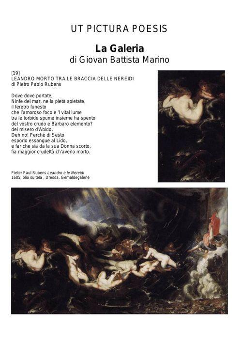 Arte 600 Lezioni Marino La Galeria