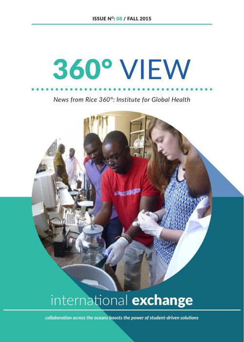 Rice 360 Newsletter Fall 2015