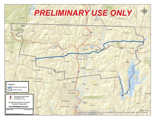 Kinder Morgan Tennessee Gas Pipeinline Plans