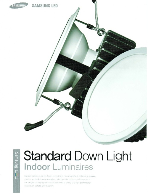 Standard Down Light - Indoor Luminaires