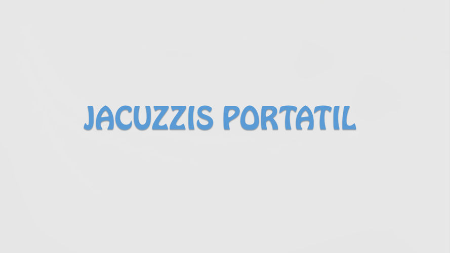 jacuzzis portatil