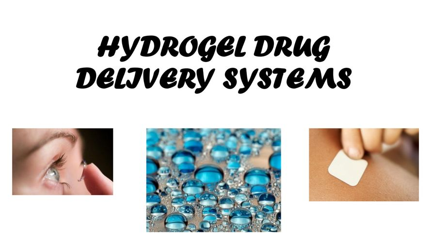 HYDROGEL DRUG DELIVERY SYSTEMS FB