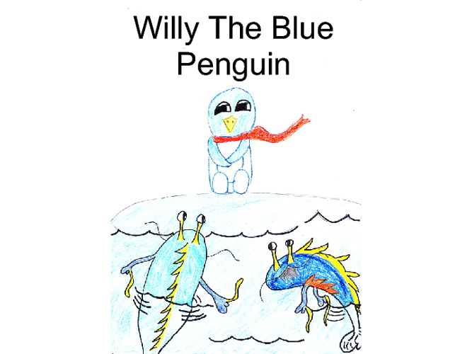 Willy the Blue Penguin