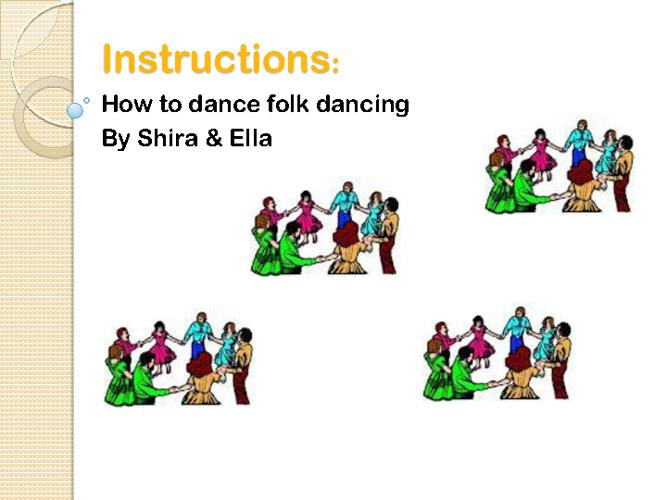instructions - English