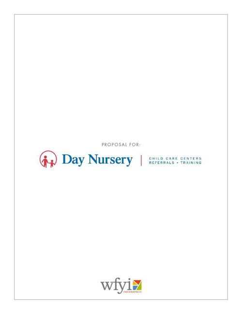 2014 Proposal for Day Nursery - WFYI