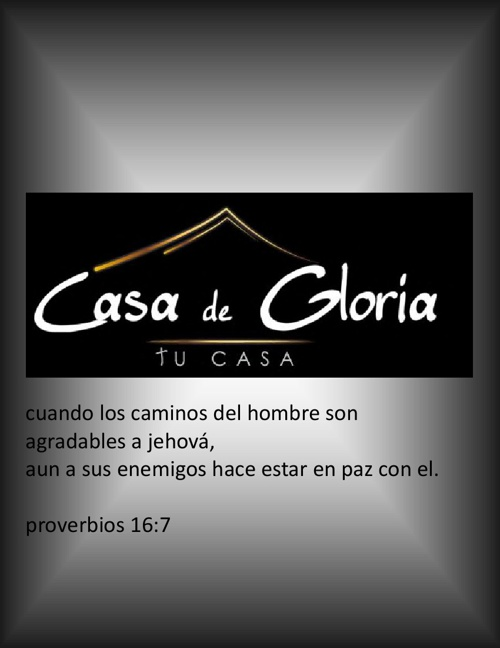 CASA DE GLORIA