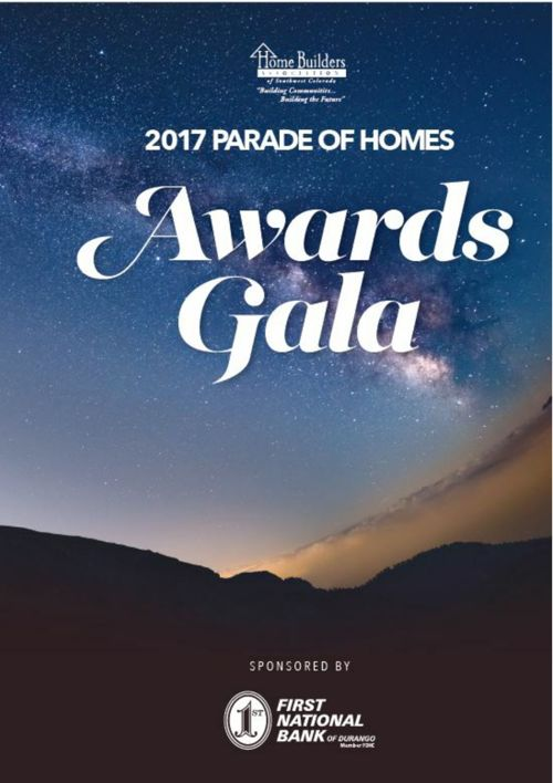 2017 Parade of Homes Gala Program