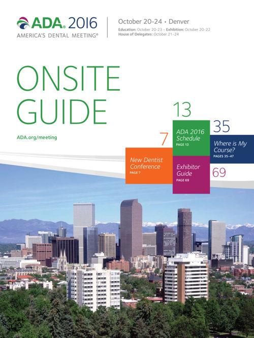 ADA 2016 Onsite Guide