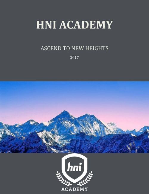 HNI Academy Catalog