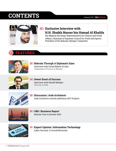 bizbahrain E-MAGAZINE - JANUARY 2017