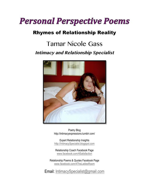 Copy of Relationship Rhyming Poems