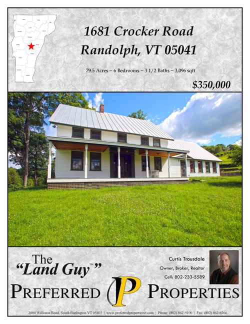Property Brochure - Crocker Road, Randolph