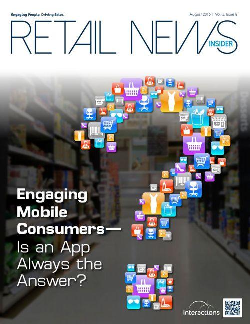 August 2015 Retail News Insider