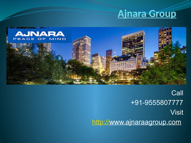 Ajnara Group Offers Luxurious Venture