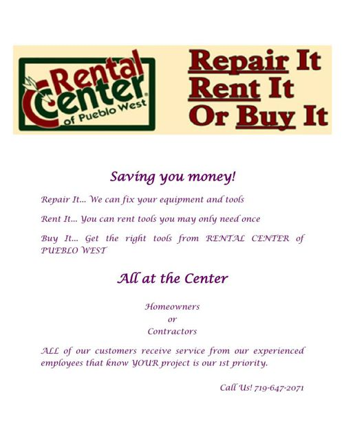 Tool Repair Canon City Co