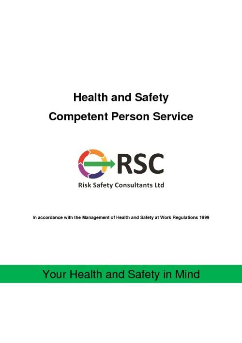 Competent Person Service