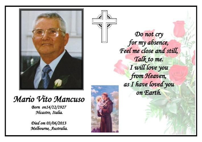 mario Marcuso English Version