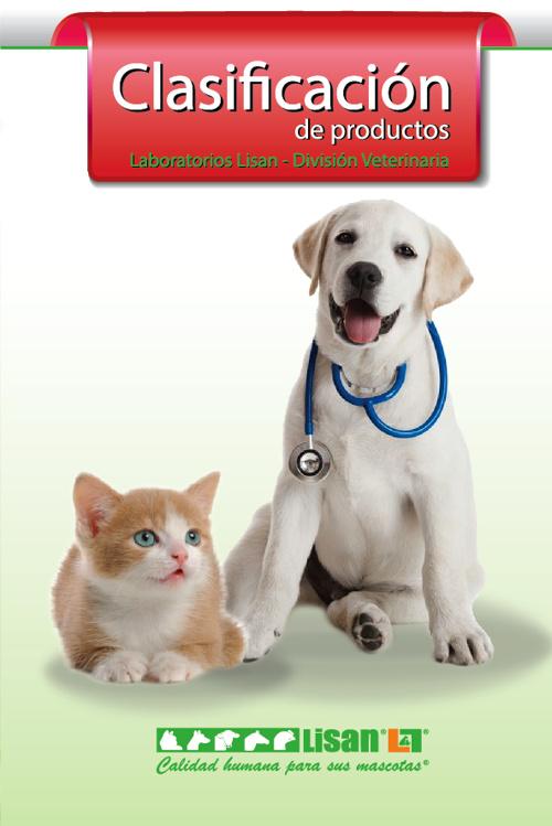 Clasificación de productos/Laboratorios Lisan/División Veterinar