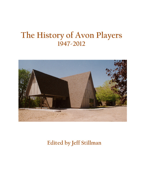 Avon Players History - Chapter 1 (50's)