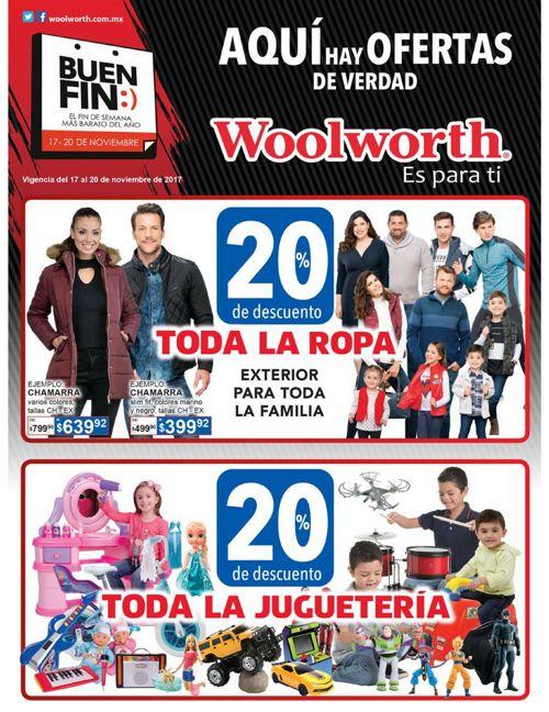 Woolworth El Buen Fin 2017