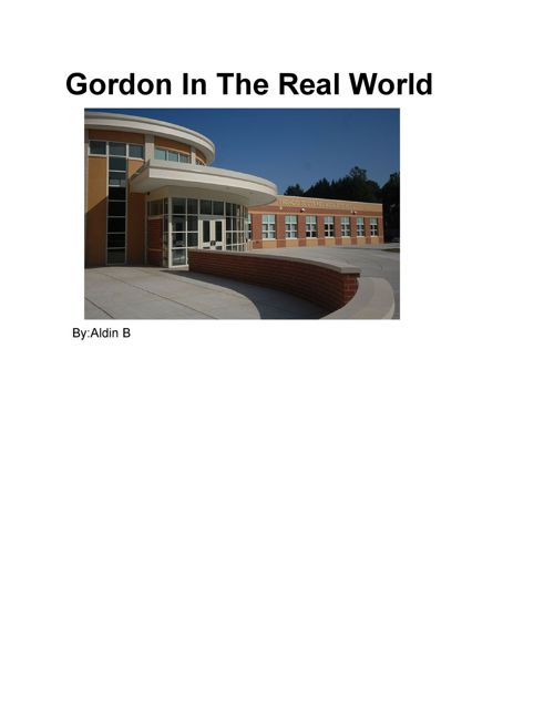 GordonInTheRealWorld