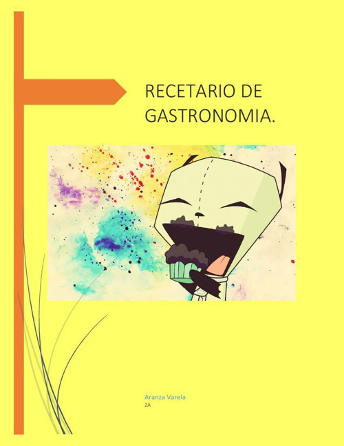 Recetario 3ra evalucaion Aranza Varela Garcia