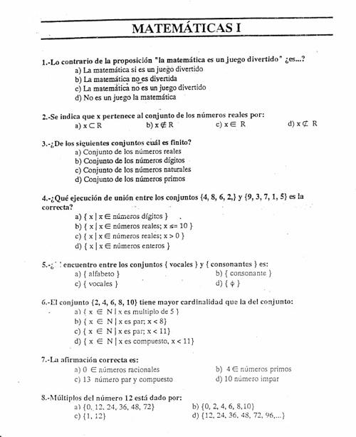 Matematicas examen 2