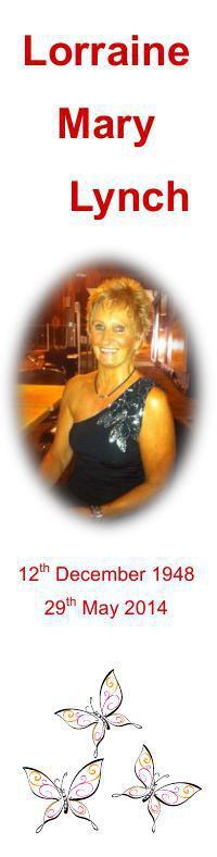 Bookmark for Lorraine Lynch