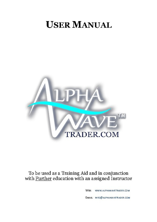 Copy of AlphaWave Training Manual