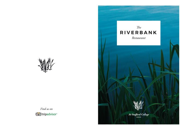 The Riverbank Restaurant | April/May Lunch Menu