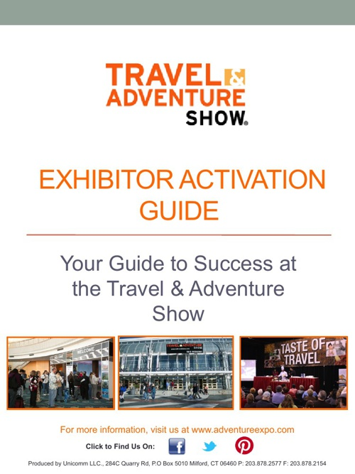 Exhibitor Activation Guide Part 1