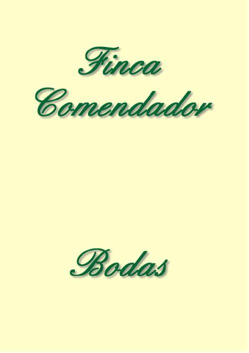 Finca Comendador - Bodas 2016