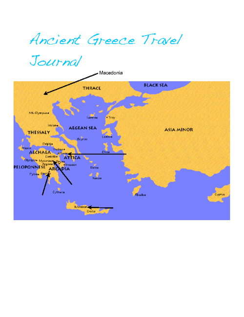 Travel Journal- Greece