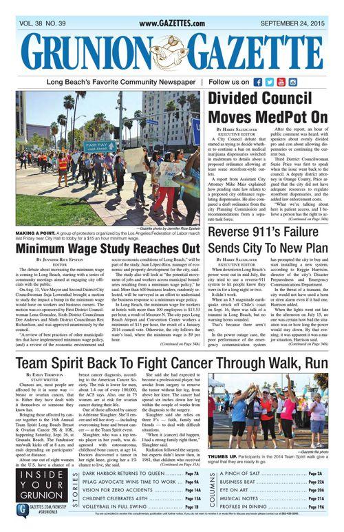 Grunion Gazette | September 24, 2015