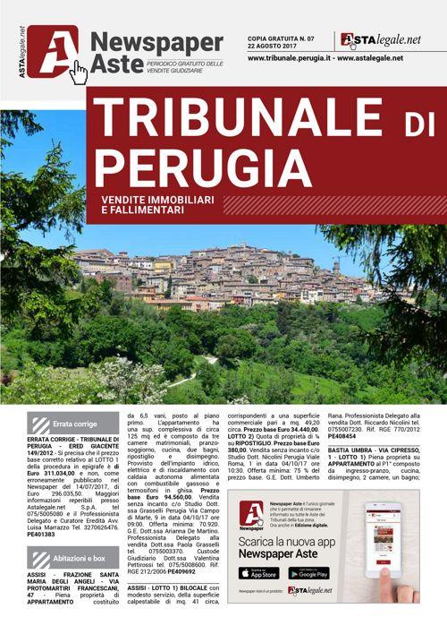 Perugia agosto 2017