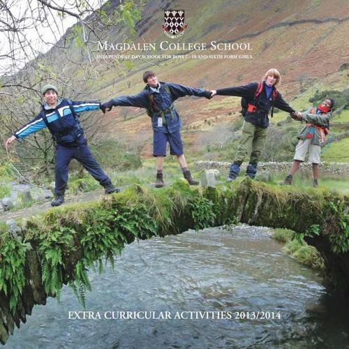 MCS Activities Brochure 2013