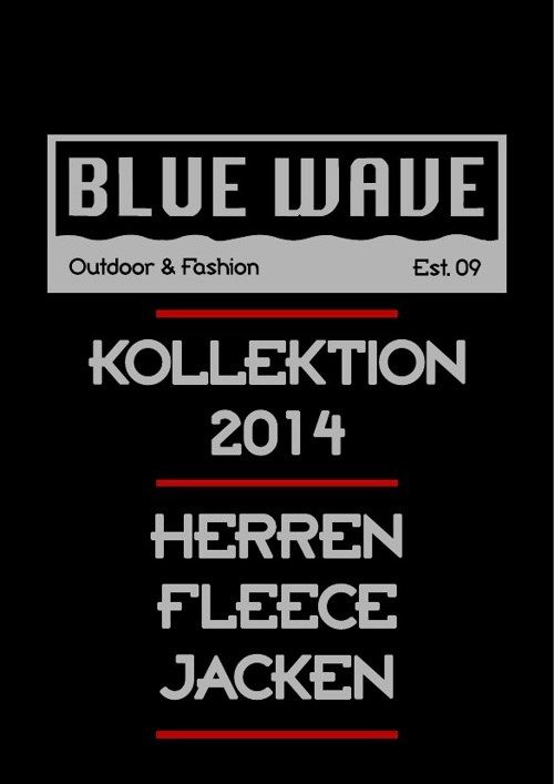 HERREN FLEECEJACKEN BLUE WAVE KATALOG 2014