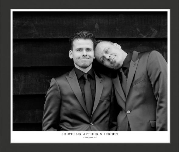 Huwelijk Arthur & Jeroen