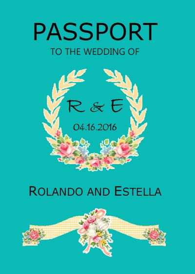 Rolando & Estella Wedding Invitation