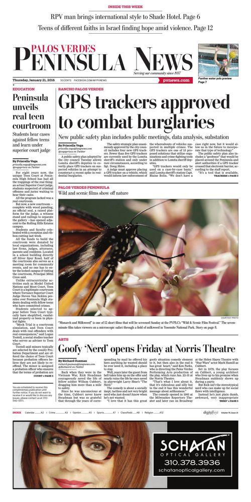 Palos Verde Peninsula News | 1-21-16