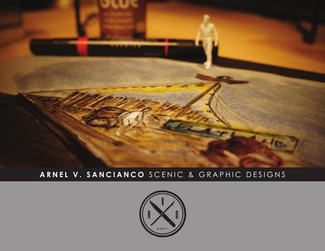Arnel Sancianco Scenic Designs 2013