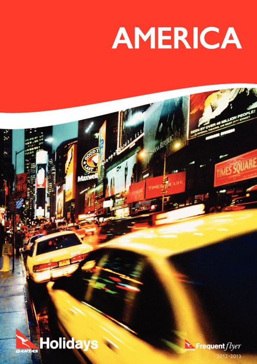 Qantas Holidays USA Brochure 12/13