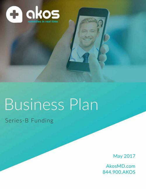 Old Business Plan Akos SeriesB SS 080417 FS Working