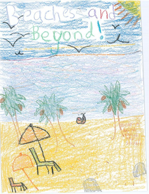 Beaches and Beyond by Allison, Stephen, Aaliyah, Khaled, & Gabe
