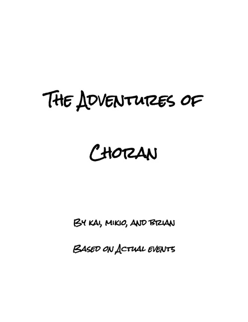 The Adventures of Choran